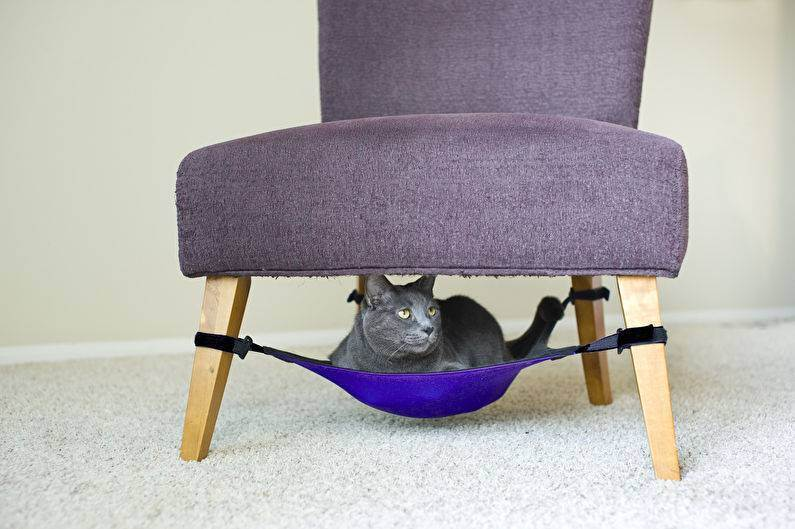 Варианты мебели для кошки, полезные советы по выбору