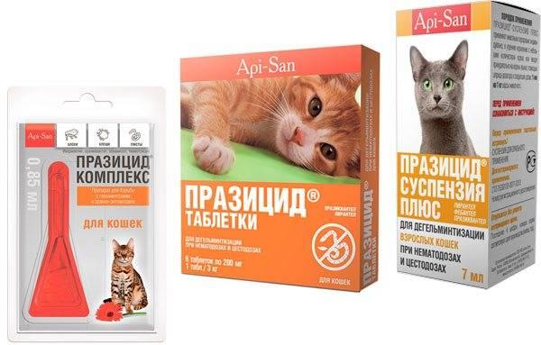 Празицид для кошек и собак