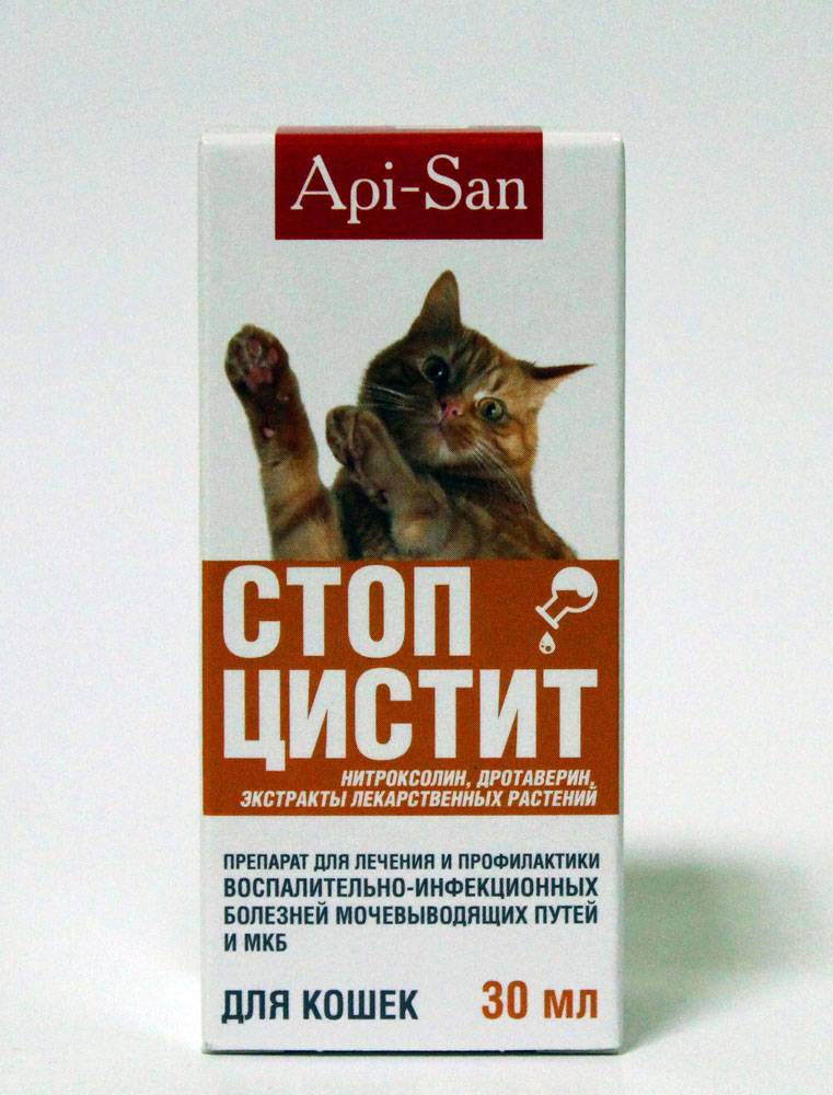 Стоп цистит для кошек (капли, таблетки): инструкция по применению, показания и противопоказания, аналоги, отзывы