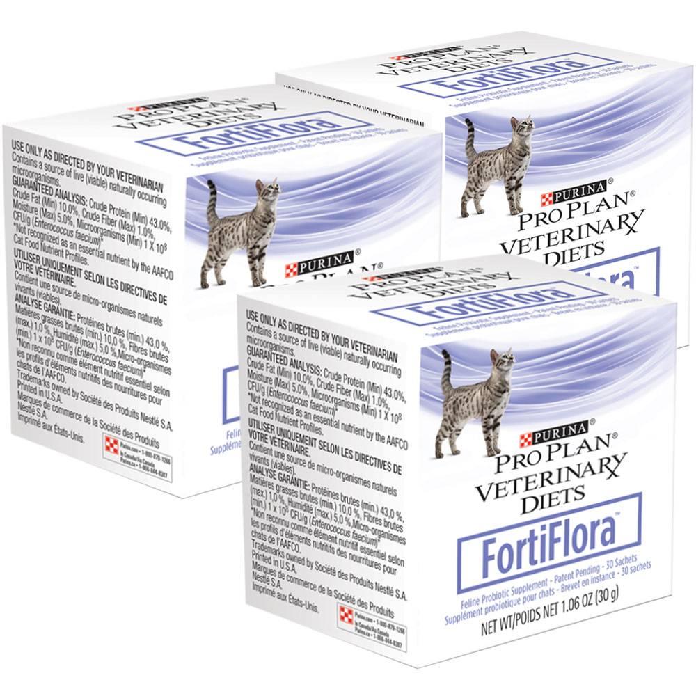 Инструкция по применению кормовой добавки для кошек фортифлора