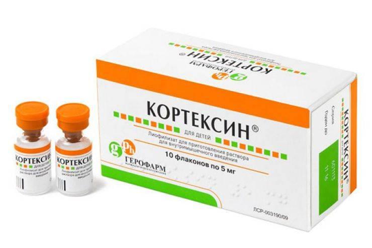 Для чего назначают уколы кортексин и инструкция по применению препарата взрослым и новорожденным