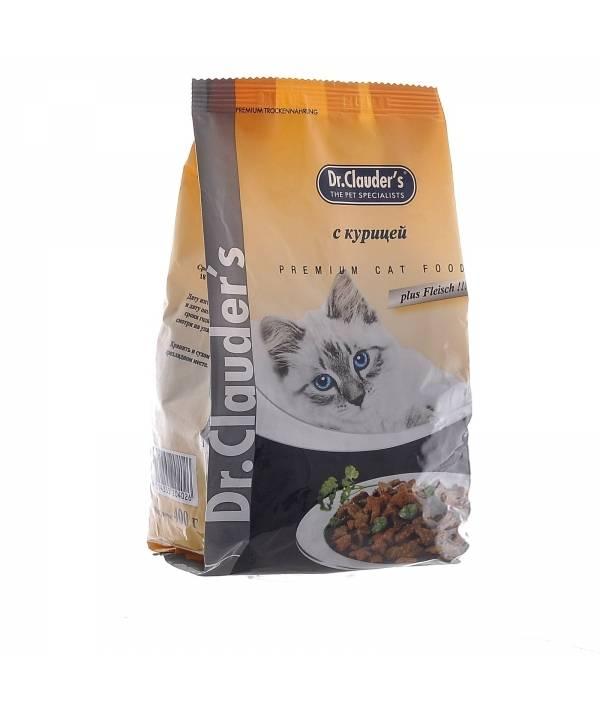 Корм для кошек dr. clauder's: обзор, отзывы и цены