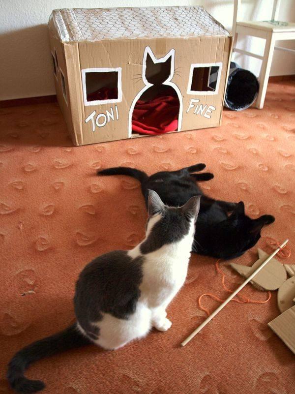 Поделка кошка – схемы и инструкции изготовления поделок из подручных материалов (95 фото-идей)