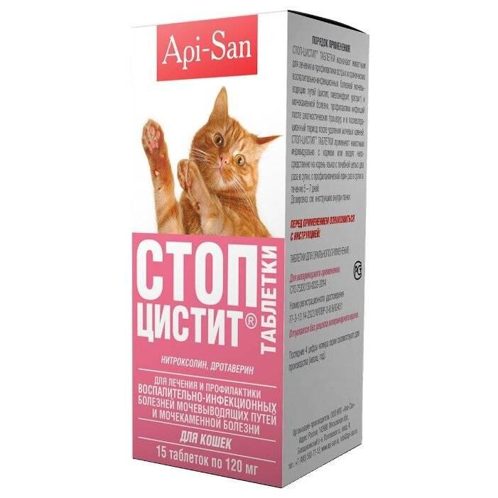 Стоп цистит для котов как давать для профилактики мочекаменной болезни