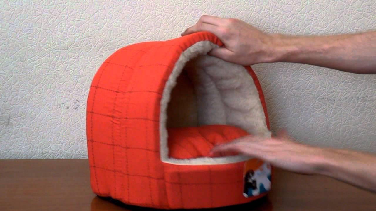 Лежак для кошки своими руками.