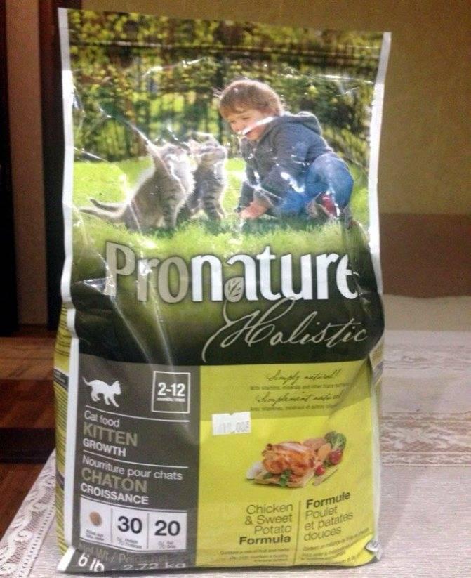 Корм для кошек pronature holistic: обзор, отзывы, рекомендации