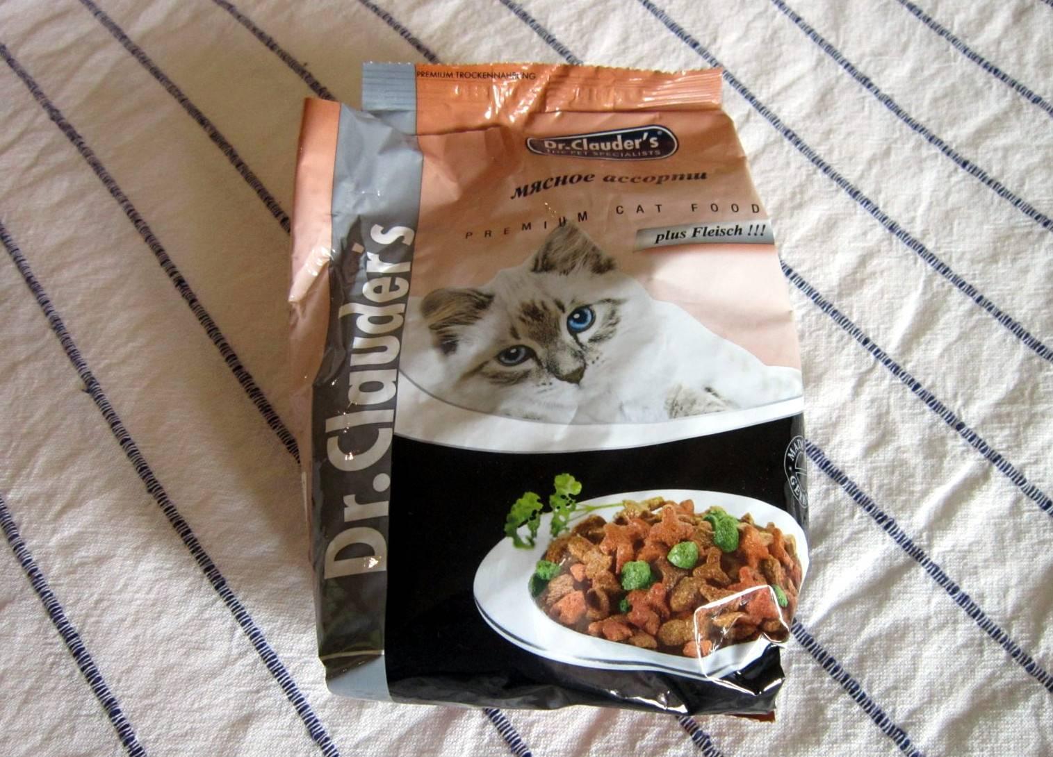 Корм для кошек dr сlauder's: отзывы и разбор состава - петобзор