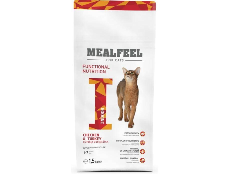 Корм для кошек mealfeel: отзывы, разбор состава, цена - петобзор