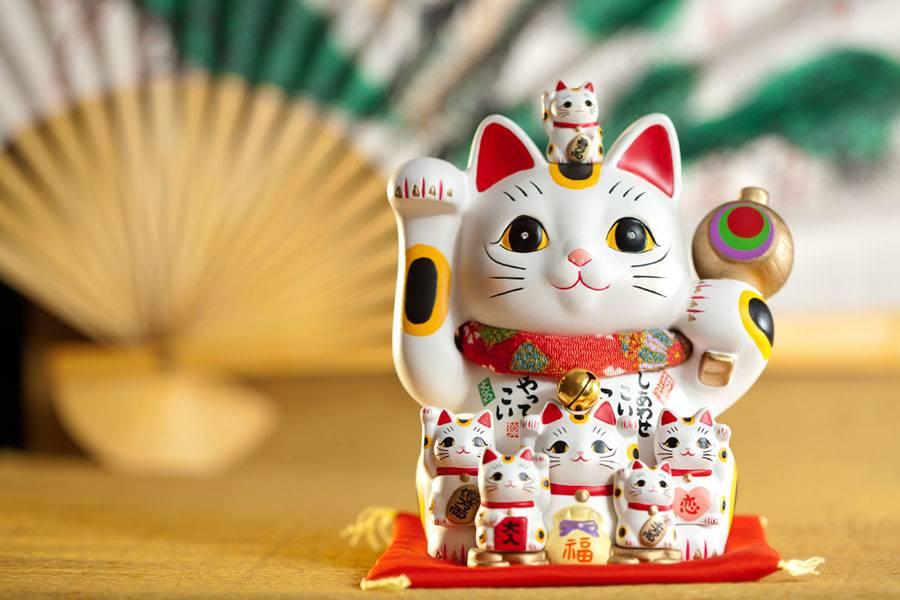 Манеки неко – символика и легенды о происхождении японского талисмана • yumenohikari