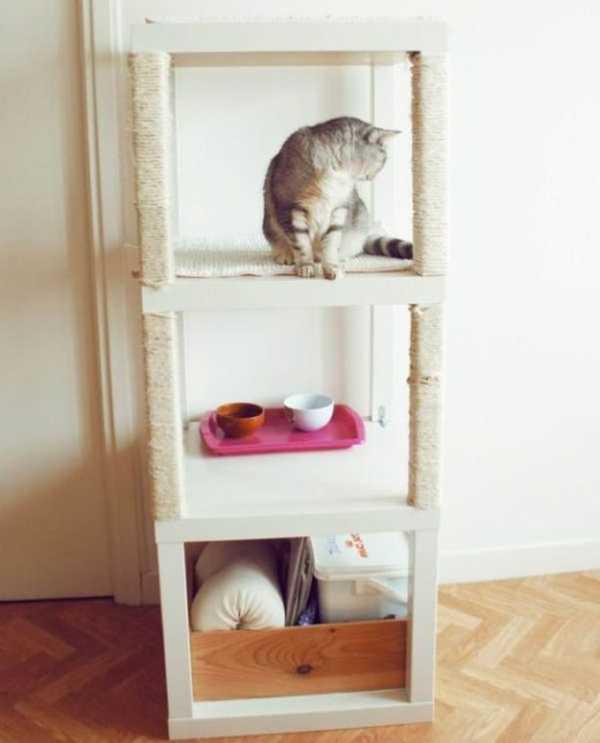 Лайфхак: как сделать лежак для кошки