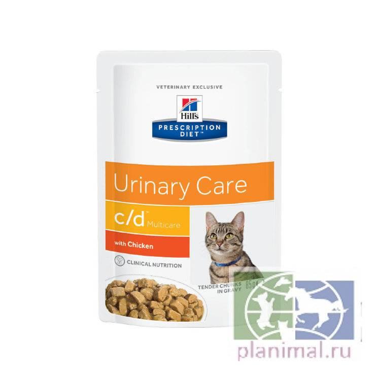 Питание кошек при мочекаменной болезни