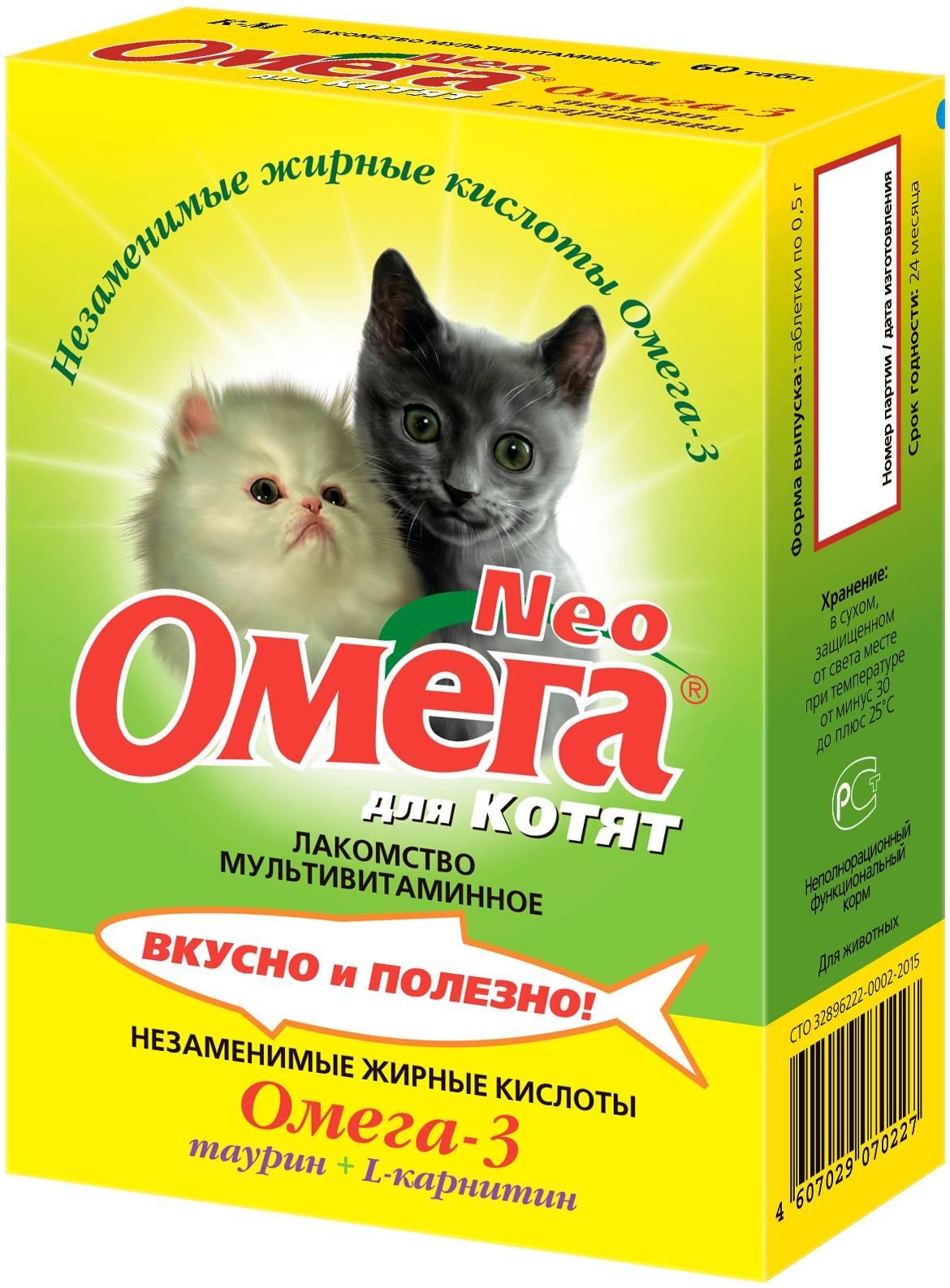 Витамины для старых кошек - обзор лучших препаратов с описанием