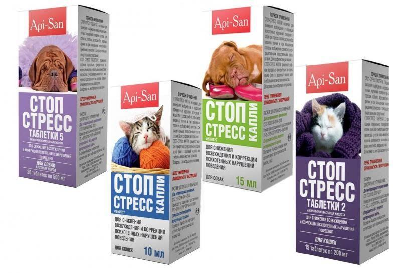 Препараты антистресс для кошек