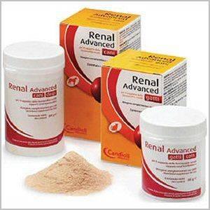Candioli: ренал эдванс, кормовая добавка при хронической почечной недостаточности для кошек, порошок 40 гр.