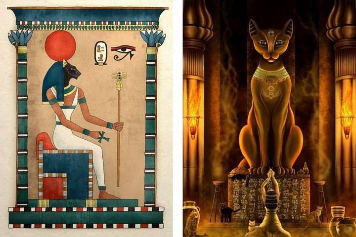 Бастет – древнеегипетская богиня-кошка