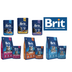 Корм брит (brit) для кошек