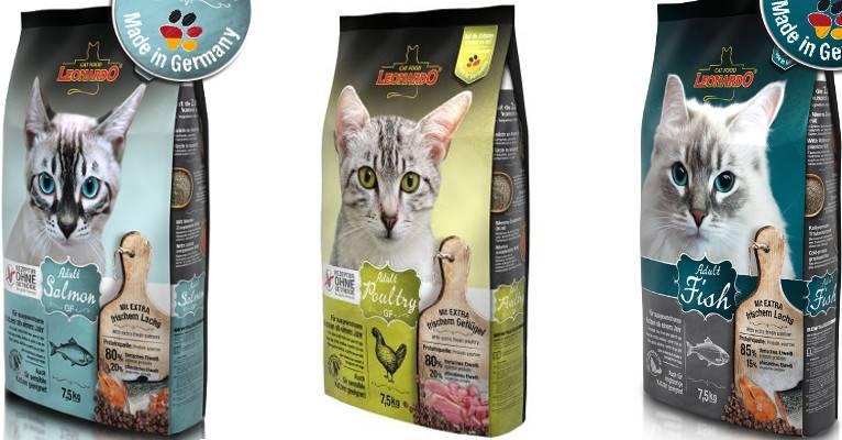 Корм leonardo для кошек — полный обзор корма и отзывы