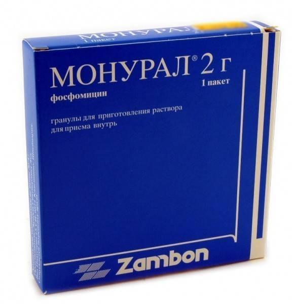 Монурал при цистите - инструкция по применению, состав, действующее вещество, побочные эффекты и аналоги