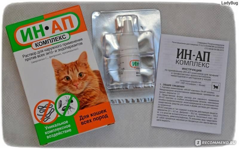 Отзывы противопаразитарные средства астрафарм ин-ап комплекс для кошек » нашемнение - сайт отзывов обо всем