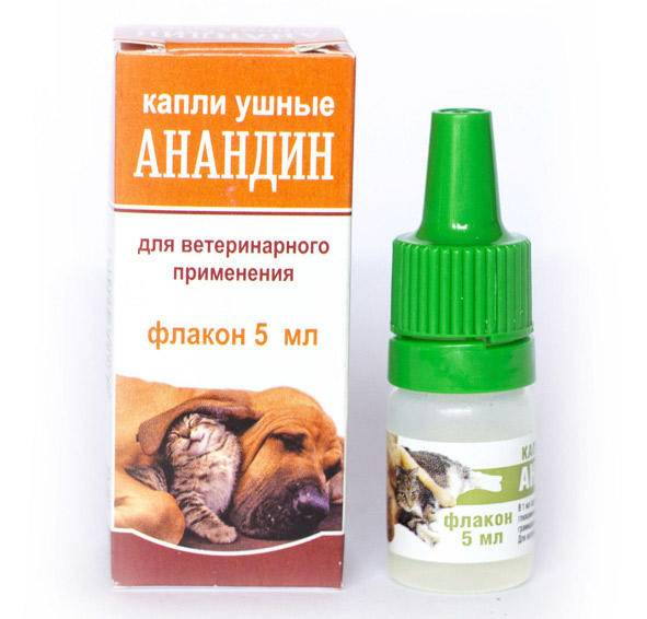 Анандин для кошек: инструкция по применению, отзывы