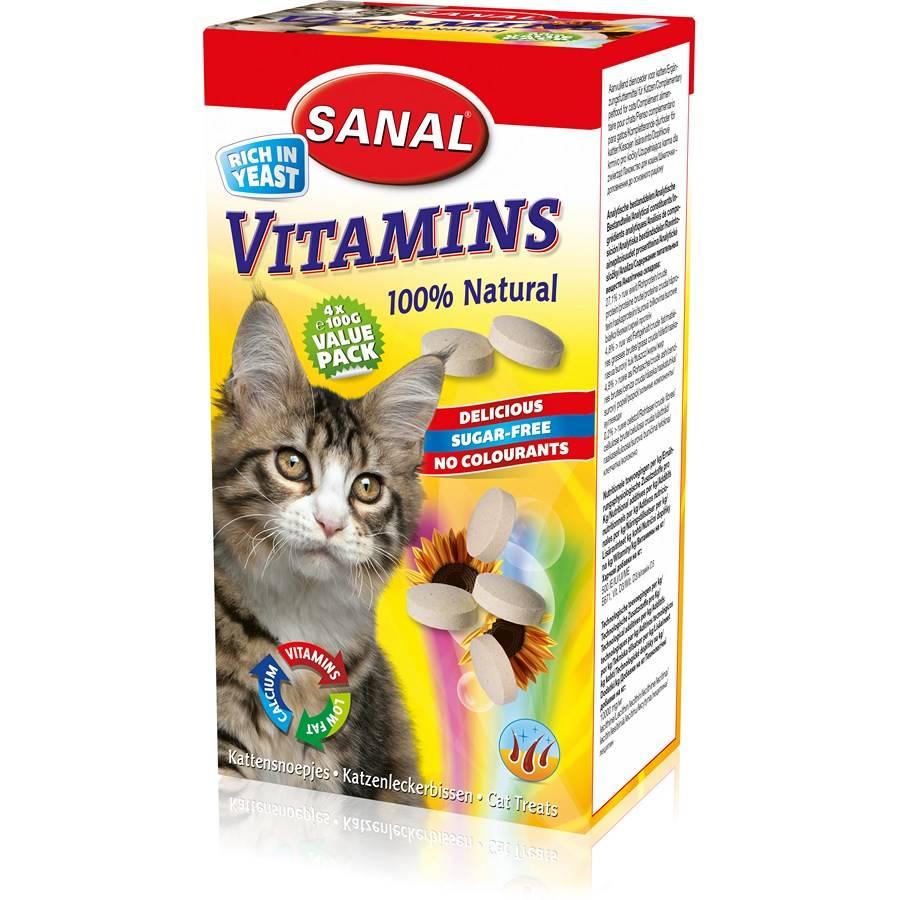 Витамины для кошек с кальцием - обзор препаратов с инструкцией, составом, показаниями и ценами