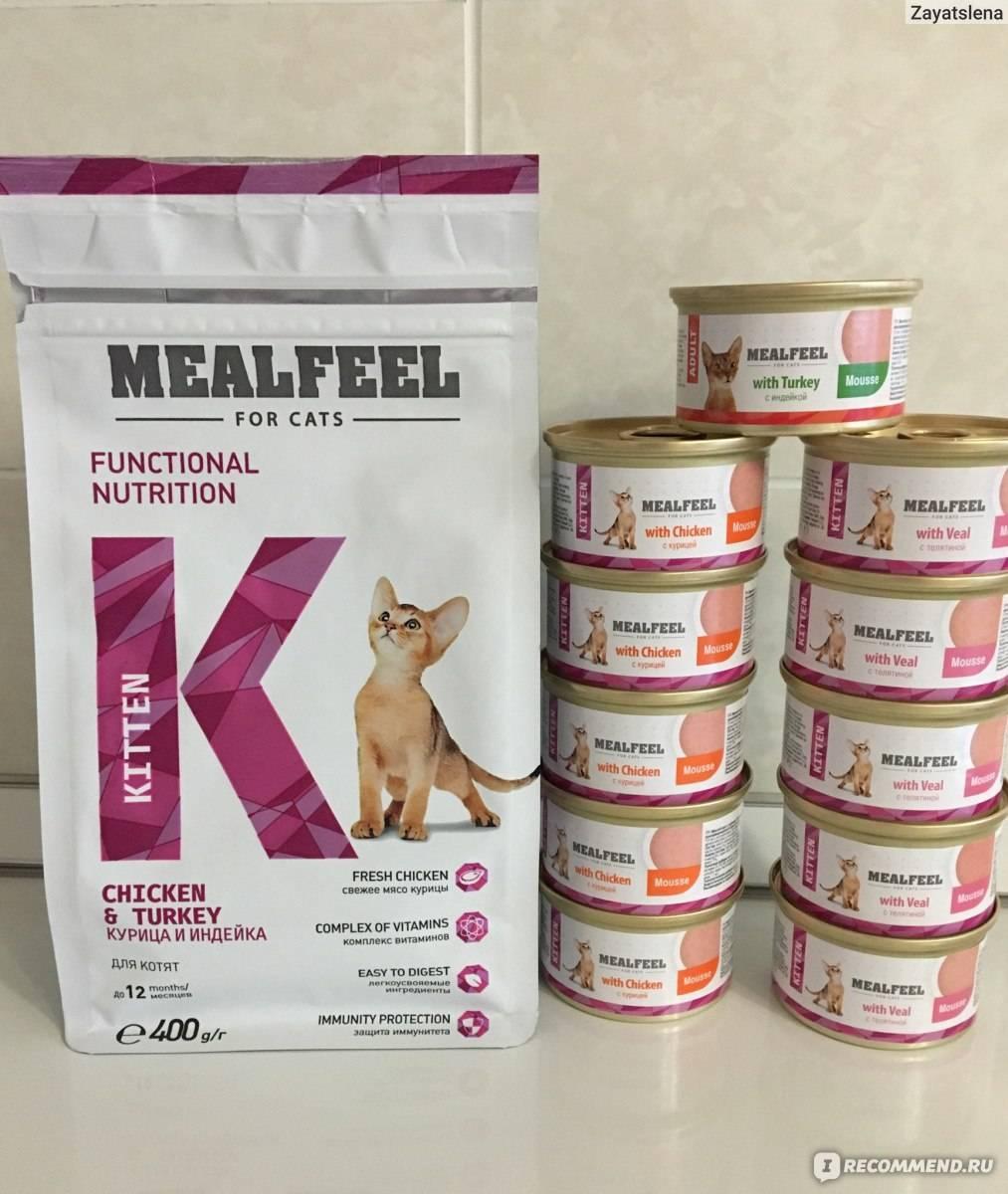 Корм милфил (mealfeel) для кошек — полный обзор, отзывы