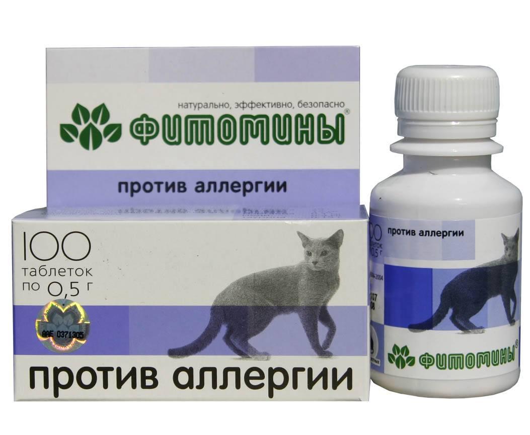 Таблетки против аллергии на котов
