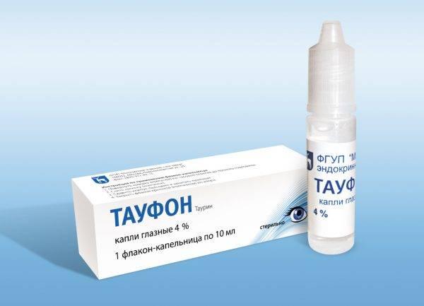 Можно ли для лечения детей применять глазные капли «тауфон»?