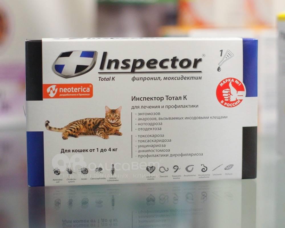 Капли от глистов на холку «профендер» для кошек: инструкция по применению
