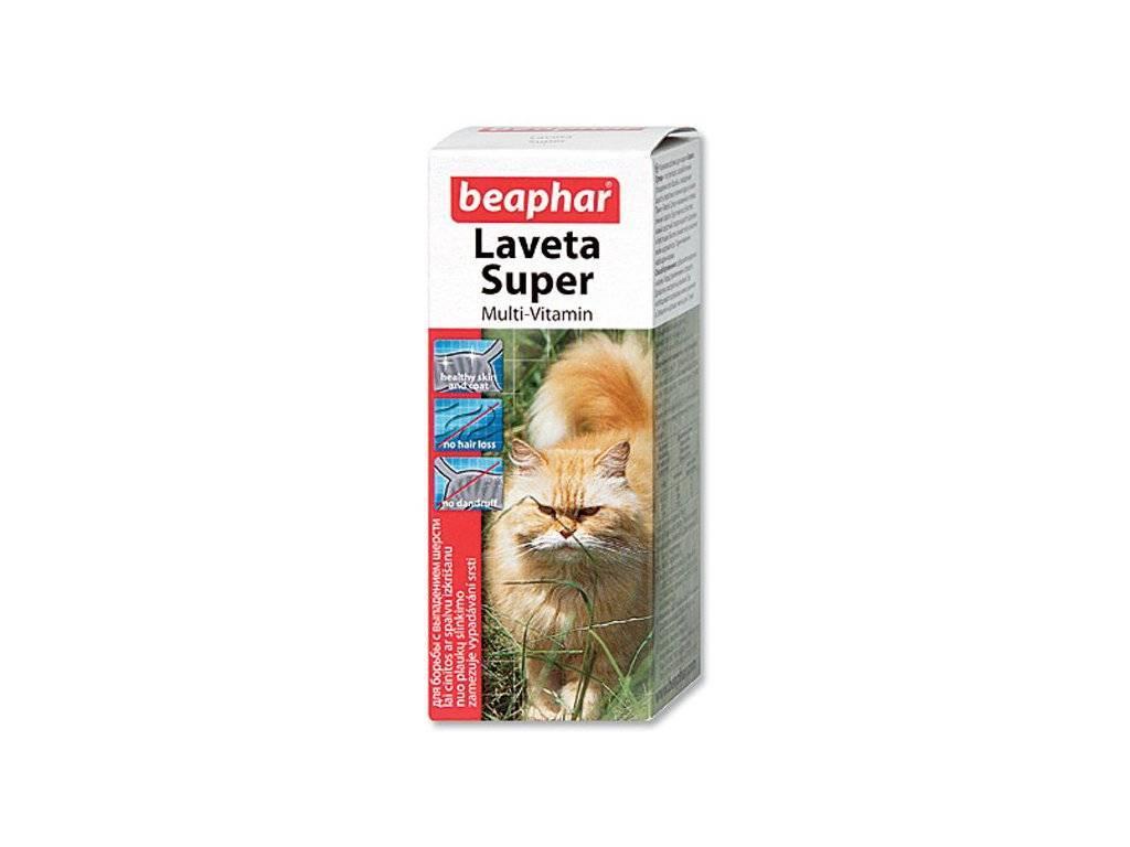 Использование витаминов и комплексов для кошек от выпадения шерсти
