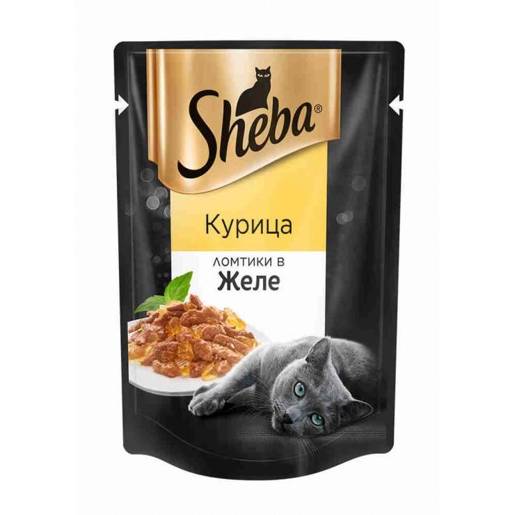 Sheba (шеба) — производитель консервированных кормов для кошек премиум класса