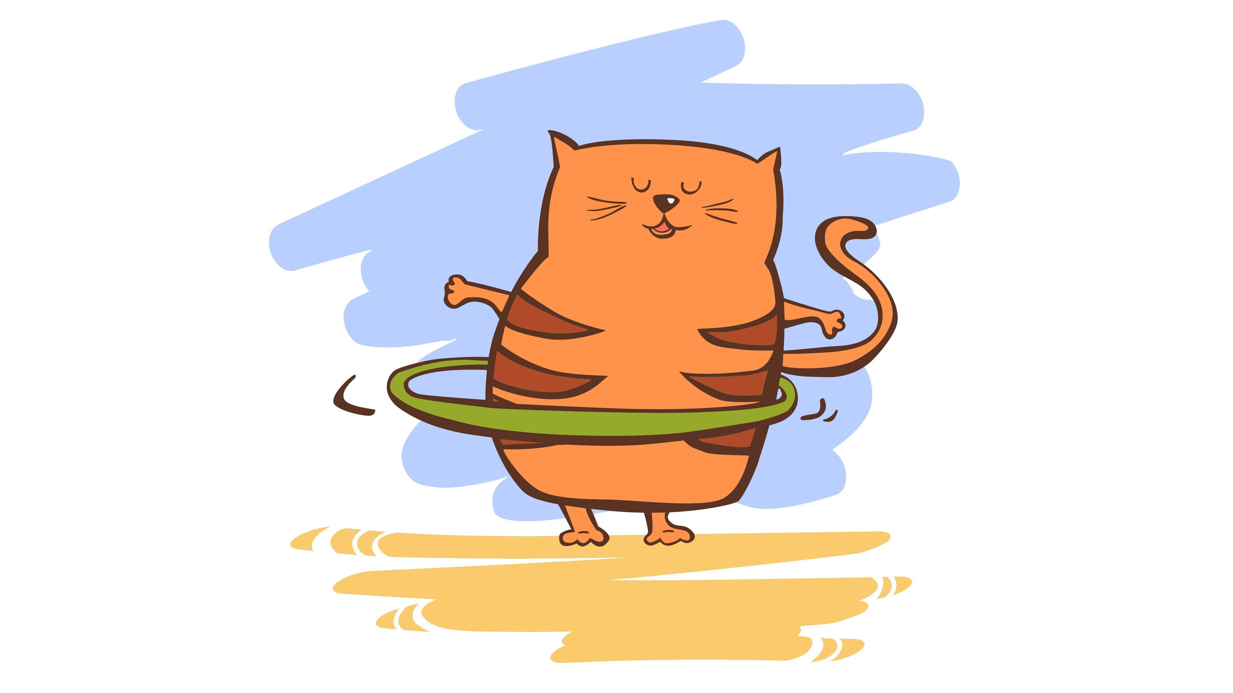Почему кот худой?