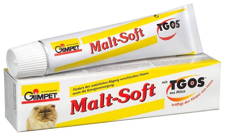 Мальт паста для кошек: инструкция по применению, как давать, отзывы и состав