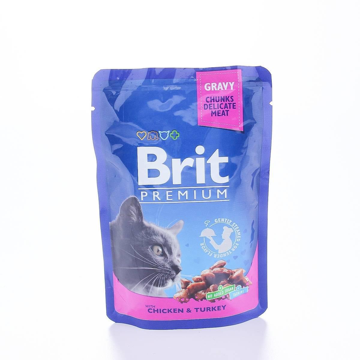 Влажный и сухой корм брит для кошек премиум класса: состав, отзывы и советы ветеринаров