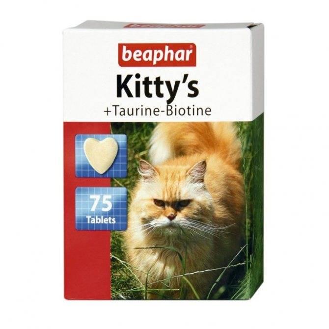 Обзор витаминов для кошек от выпадения шерсти