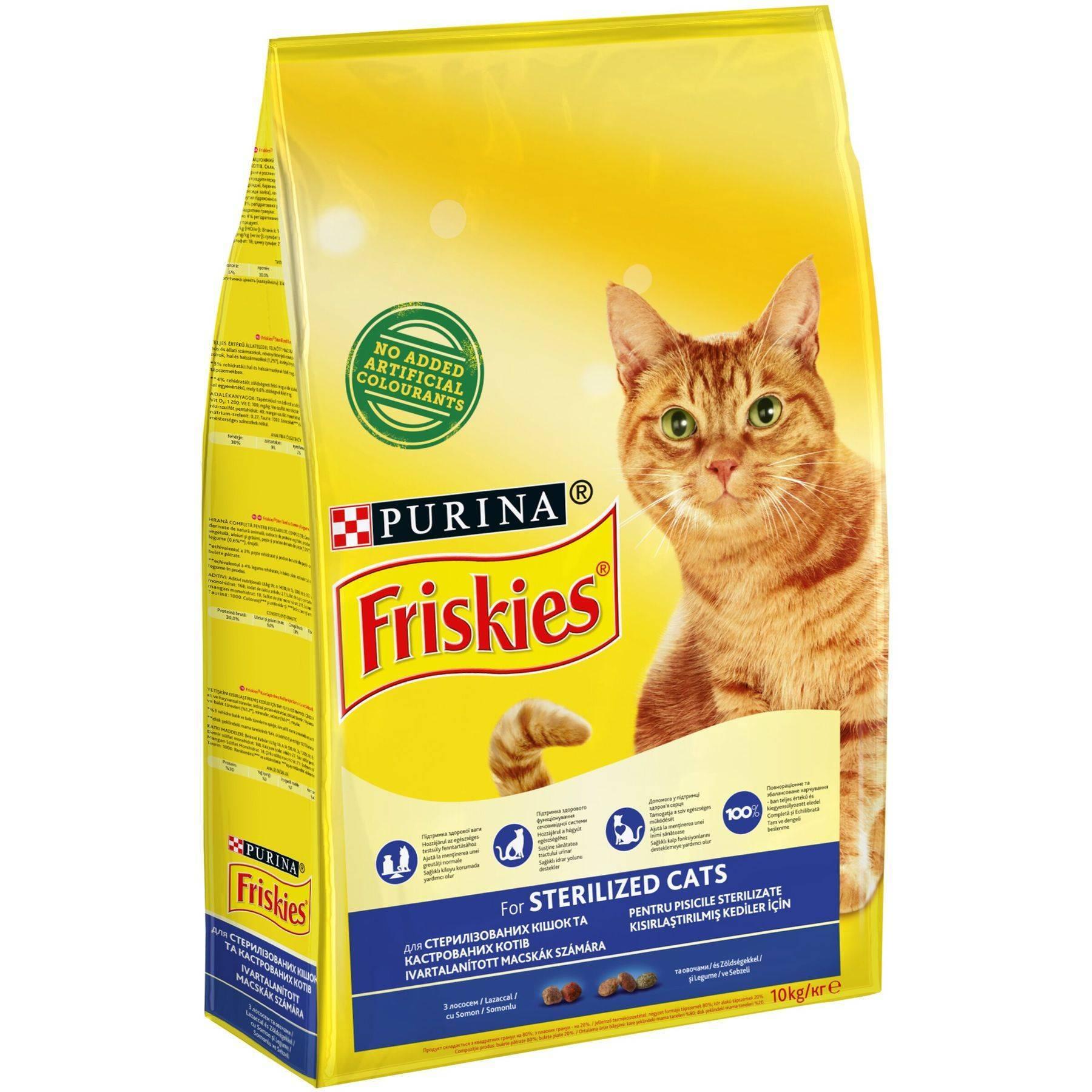 Питание кастрированного кота в домашних условиях