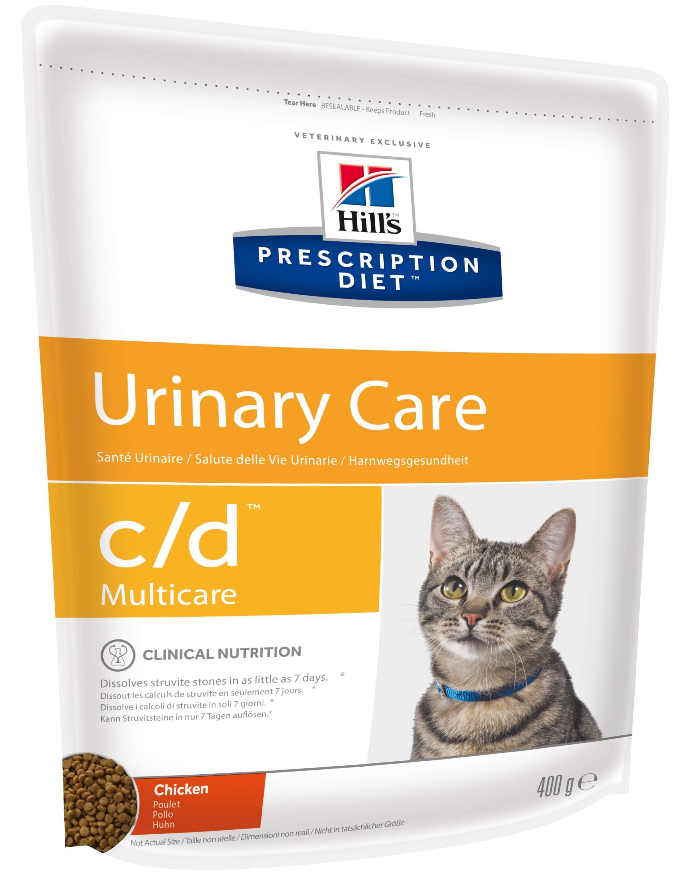 Корм для кошек при мочекаменной болезни - лечебный, при струвитах, оксалатах, для профилактики